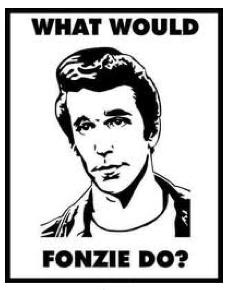 What Would The Fonz Do?